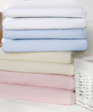 Sheets & Protectors Bizzi Growin Cot/Cotbed Fitted Sheets Pitter Patter Baby NI 4