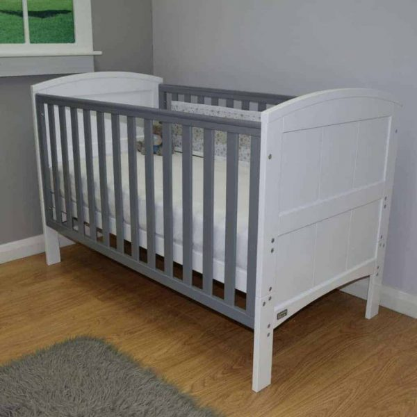 Cots, Cotbeds & travel cots Stockholm Cotbed & Mattress Bundle Pitter Patter Baby NI 4