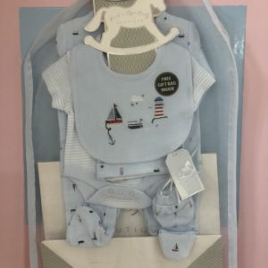 Rockabye Baby Boutique Boys 5pc set incl gift bag
