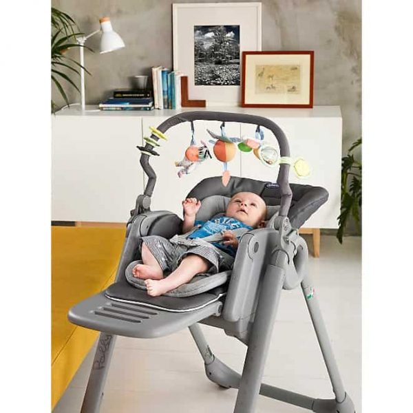 Highchairs Polly Magic Relax Highchair Graphite Pitter Patter Baby NI 6