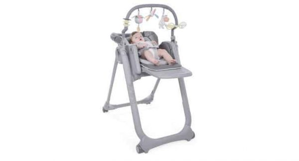 Highchairs Polly Magic Relax Highchair Graphite Pitter Patter Baby NI 5