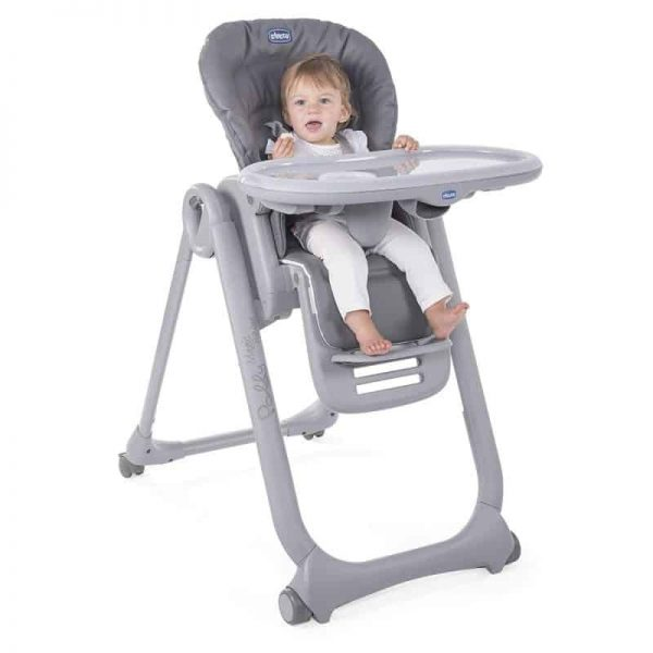 Highchairs Polly Magic Relax Highchair Graphite Pitter Patter Baby NI 7