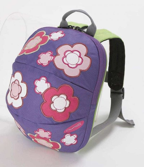 Harness & Reins Toddler Daysack – Flowers – with lead Rein Pitter Patter Baby NI 3