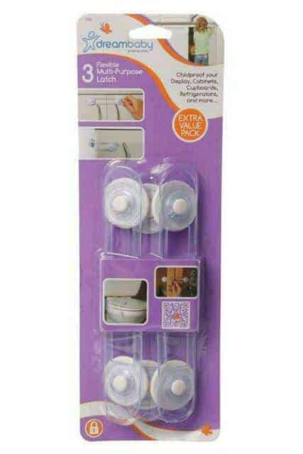 Baby Health & safety essentials MULTI-PURPOSE LATCHES 3 PACK Pitter Patter Baby NI 4