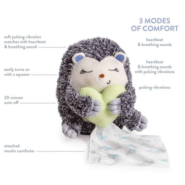 Toys LITTLE HEARTBEATS SOOTHER HEDGEHOG Pitter Patter Baby NI 5