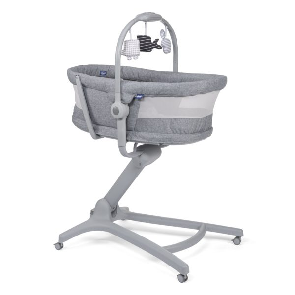 Moses Baskets & Stands Chicco 4in1 Hug Air Titanium Bundle Pitter Patter Baby NI 5