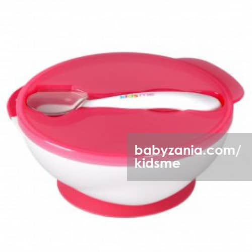 Dinner sets Kidsme Suction Bowl Set with Spoon Pitter Patter Baby NI 6