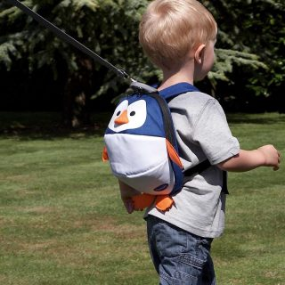 Harness & Reins Toddler Daysack – Penguin – with Lead Rein Pitter Patter Baby NI 4
