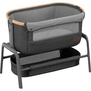 Maxi-Cosi Iora Bedside Crib – Essential Graphite