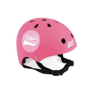 BIKLOON PINK DOTS HELMET FOR BALANCE BIKE