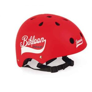 BIKLOON RED HELMET FOR BALANCE BIKE