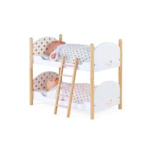Christmas CANDY CHIC DOLLS BUNK BEDS Pitter Patter Baby NI