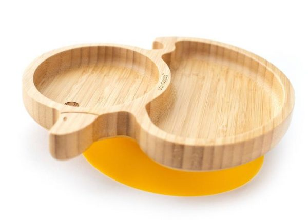 Dinner sets Bamboo suction duck plate Pitter Patter Baby NI 4