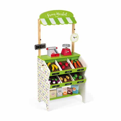 Toys GREEN MARKET GROCERY (WOOD) Pitter Patter Baby NI 11