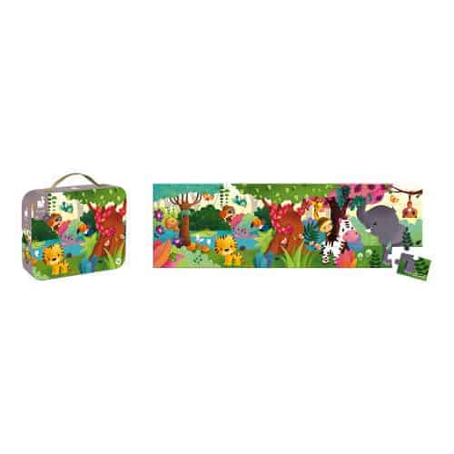 Jigsaws HAT BOXED PANORAMIC PUZZLE JUNGLE 36 PIECES Pitter Patter Baby NI 4