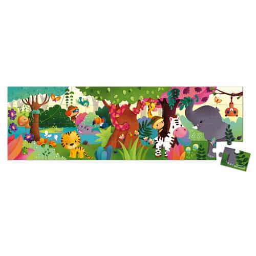 Jigsaws HAT BOXED PANORAMIC PUZZLE JUNGLE 36 PIECES Pitter Patter Baby NI 8