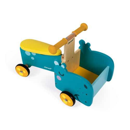 Ride On toys HIPPOPOTAMUS RIDE-ON (WOOD) Pitter Patter Baby NI 5