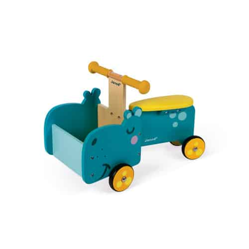 Ride On toys HIPPOPOTAMUS RIDE-ON (WOOD) Pitter Patter Baby NI 7