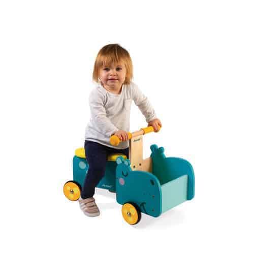 Ride On toys HIPPOPOTAMUS RIDE-ON (WOOD) Pitter Patter Baby NI 4