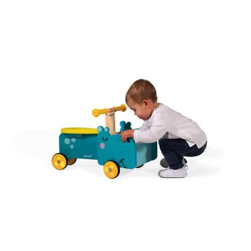 Ride On toys HIPPOPOTAMUS RIDE-ON (WOOD) Pitter Patter Baby NI 9