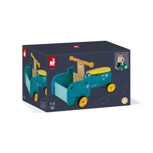 Ride On toys HIPPOPOTAMUS RIDE-ON (WOOD) Pitter Patter Baby NI 10