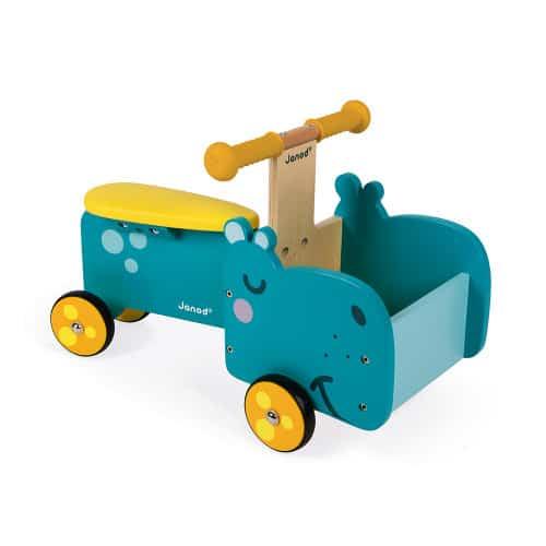 Ride On toys HIPPOPOTAMUS RIDE-ON (WOOD) Pitter Patter Baby NI 11