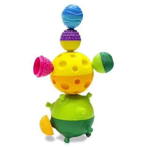 sensory toys Lalaboom Snap Beads 28pc Pitter Patter Baby NI 5