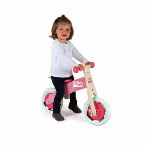 Christmas LITTLE BIKLOON MY FIRST BALANCE BIKE PINK (WOOD) Pitter Patter Baby NI