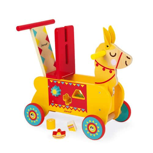 Ride On toys LAMA RIDE-ON (WOOD) Pitter Patter Baby NI 5