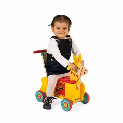 Ride On toys LAMA RIDE-ON (WOOD) Pitter Patter Baby NI 4