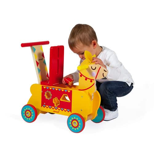 Ride On toys LAMA RIDE-ON (WOOD) Pitter Patter Baby NI 8