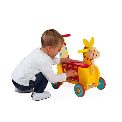 Ride On toys LAMA RIDE-ON (WOOD) Pitter Patter Baby NI 9