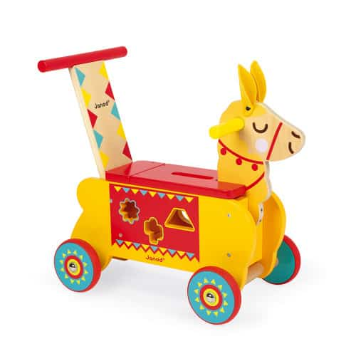 Ride On toys LAMA RIDE-ON (WOOD) Pitter Patter Baby NI 10