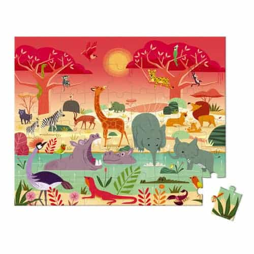 Jigsaws PUZZLE ANIMAL RESERVE Pitter Patter Baby NI 4
