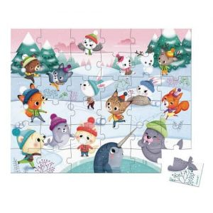 PUZZLE SNOW PARTY