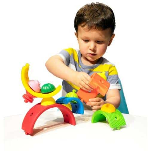sensory toys Lalaboom Rainbow Arches Pitter Patter Baby NI 5