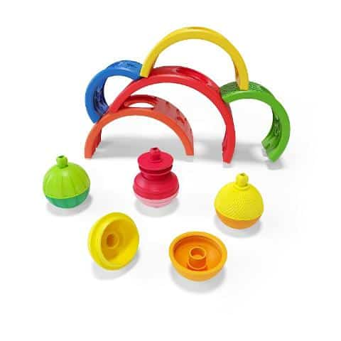 sensory toys Lalaboom Rainbow Arches Pitter Patter Baby NI 6