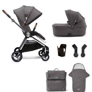 Travel Systems Strada 6 Piece Essentials Bundle – Grey Mist Pitter Patter Baby NI