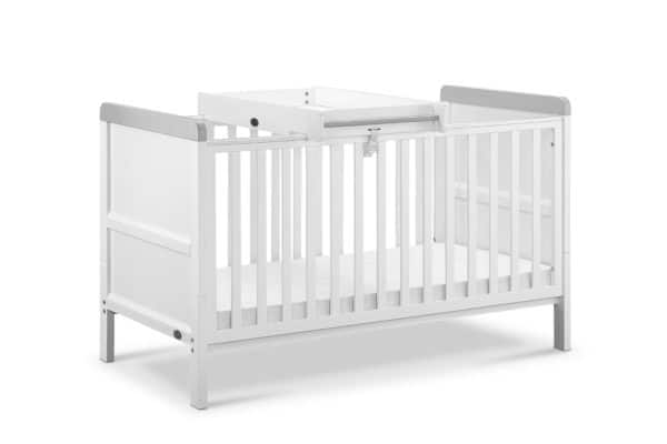 Cots, Cotbeds & travel cots Babylo Sophia Cotbed And Changer including mattress Pitter Patter Baby NI 6