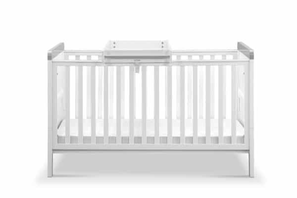 Cots, Cotbeds & travel cots Babylo Sophia Cotbed And Changer including mattress Pitter Patter Baby NI 8