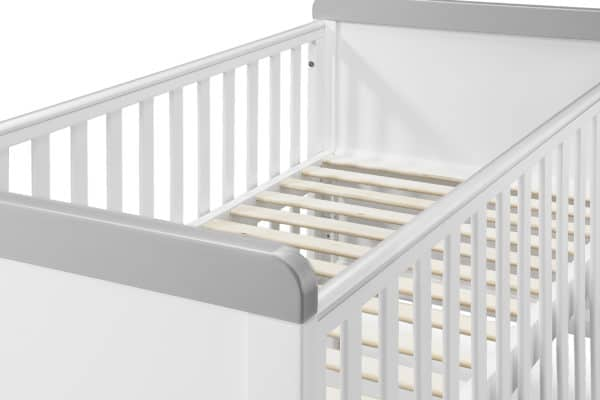 Cots, Cotbeds & travel cots Babylo Sophia Cotbed And Changer including mattress Pitter Patter Baby NI 9