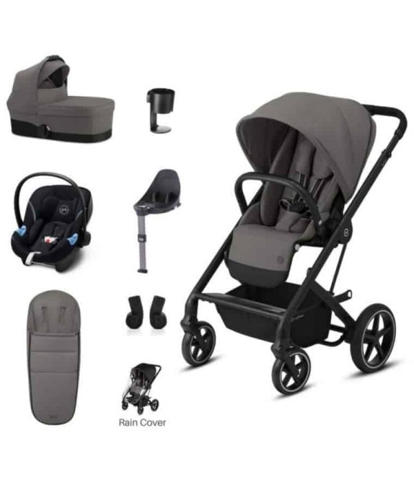 Travel Systems Cybex Balios 7 Piece Bundle – Soho Grey Pitter Patter Baby NI 4