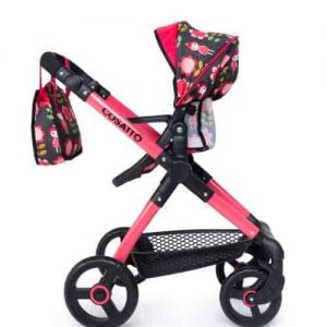 Me-Mo Dolls Pram Car Seat Fairy Garden