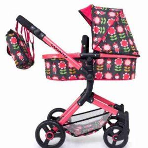Wonder Dolls Pram Car Seat Fairy Garden