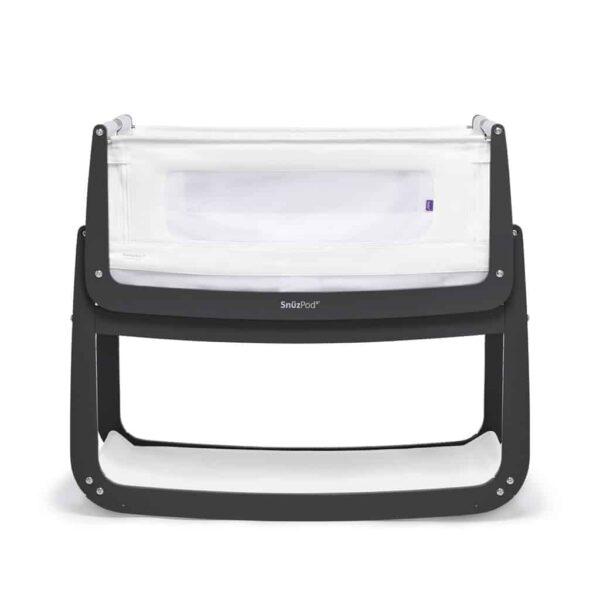 Cribs & Next2Me Cribs SnuzPod4 Bedside Crib Slate Pitter Patter Baby NI 4