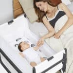 SnuzPod4 Bedside Crib Slate