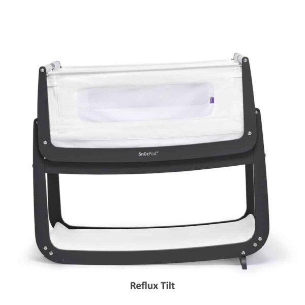 Cribs & Next2Me Cribs SnuzPod4 Bedside Crib Slate Pitter Patter Baby NI 9