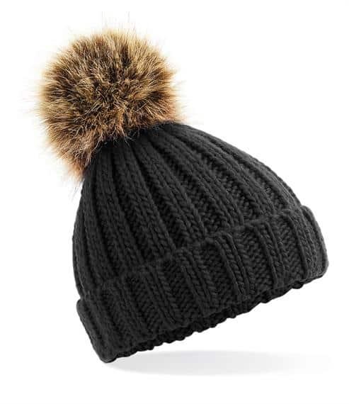 winter hats Infant Fur Pom Pom hat Pitter Patter Baby NI 4