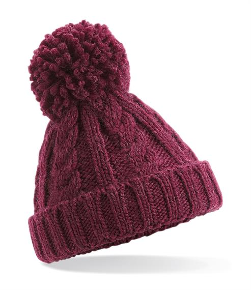 winter hats Infant Cable knit Hat Pitter Patter Baby NI 4