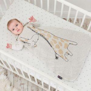 BABY SLEEPING BAG GILBERT GIRAFFE